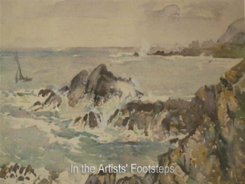 A Breezy Day, The Isle of Whithorn by Christian Jane Fergusson