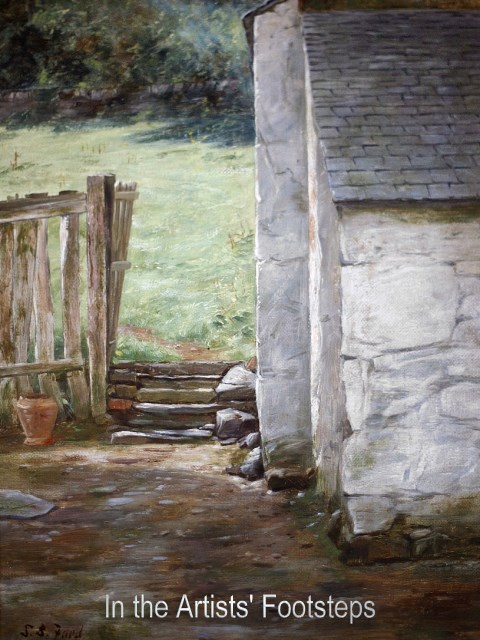 A Galloway Farm by Susan Bell Faed