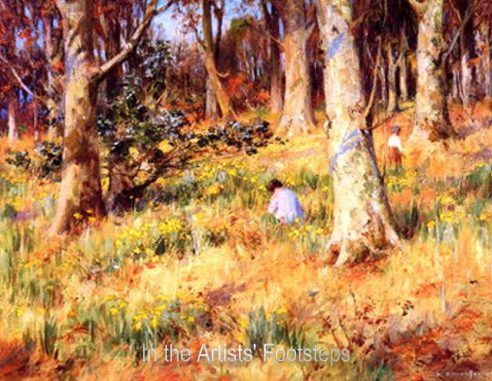 A Host of Golden Daffodils by William Stewart MacGeorge