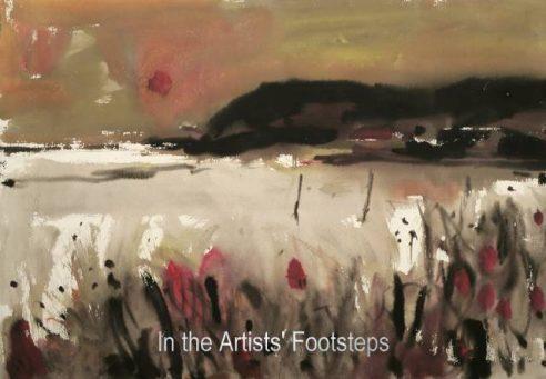 Across the Bay, Sandyhills by Archibald (Archie) Sutter Watt