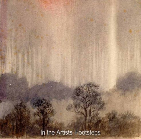Aurora Borealis – Looking North (Dalskairth) by Vincent Robert Stewart Ramsey Balfour-Browne