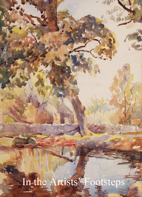 Autumn Reflections by Christian Jane Fergusson