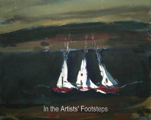 Boats Near Glencaple by Archibald (Archie) Sutter Watt