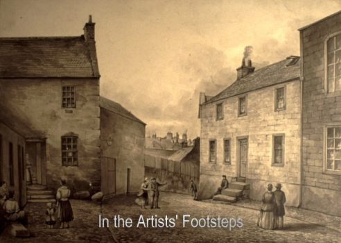 Burns Street, Dumfries by William Leighton Leitch