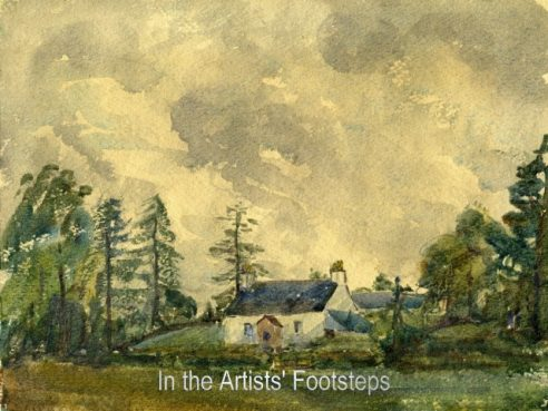 Cottage at Corsock by David Ramsay