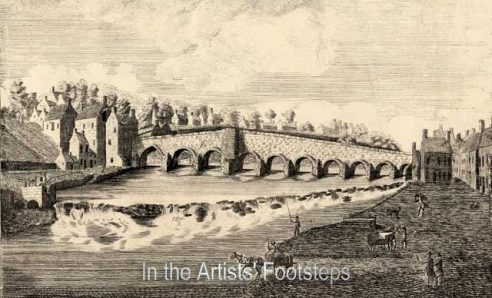 Devorgilla's Bridge, Dumfries by Robert Andrew Riddell