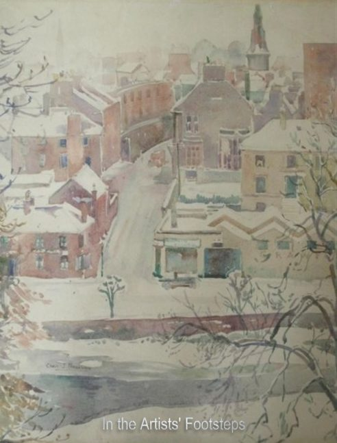 Dumfries and the Nith in Winter from Millbank by Christian Jane Fergusson