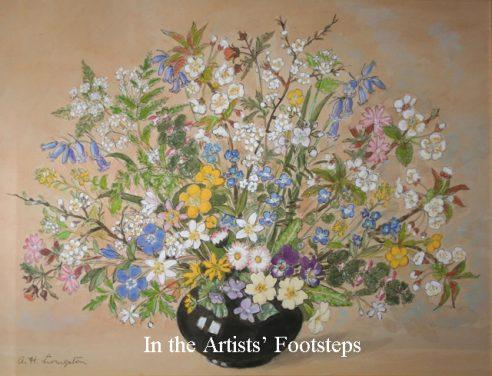 Flowers in a Vase by Alison Livingstone