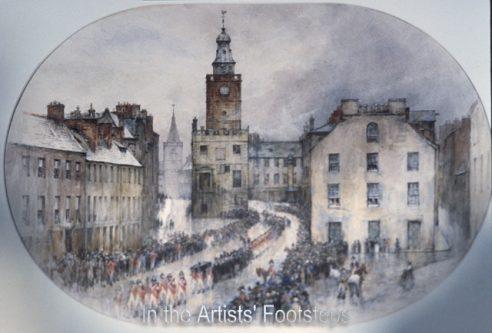 Funeral of Burns by William Ewart Lockhart
