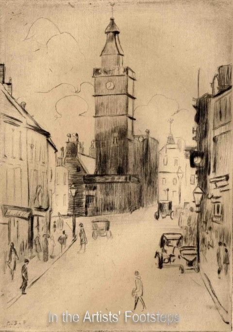 High Street, Dumfries by Christian Jane Fergusson