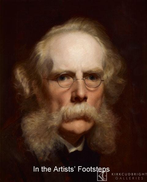 John Faed Self portrait by John Faed