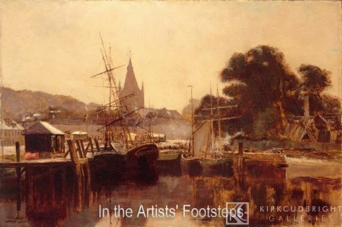Kirkcudbright Harbour by William Young