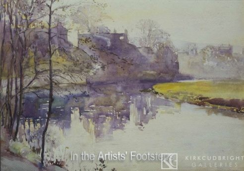 Lincluden and the Nith, Dumfries by Christian Jane Fergusson