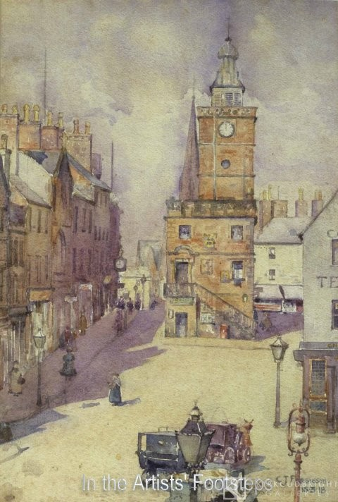 The Midsteeple, Dumfries by Christian Jane Fergusson