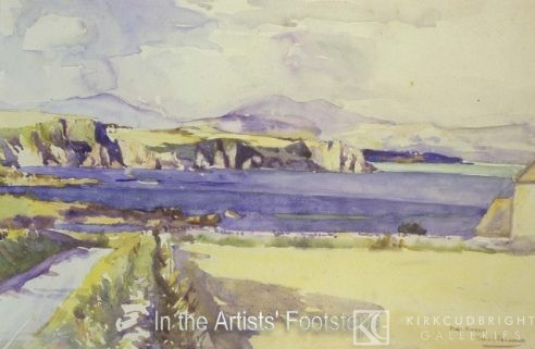 Port Yerrick, Wigtownshire by Christian Jane Fergusson