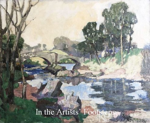 River Landscape, Kirkcudbright by Alexander Knox Kimm