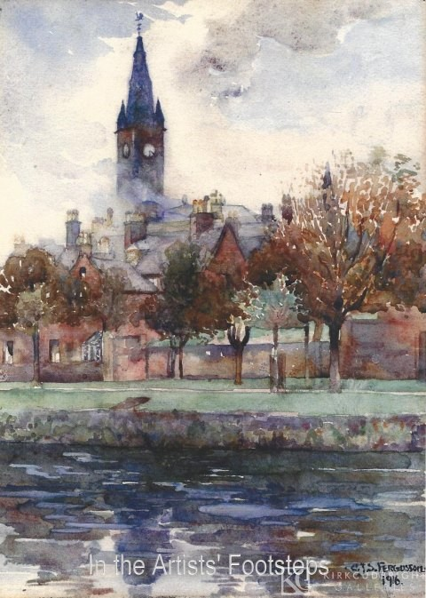 St Michael's Church, Dumfries by Christian Jane Fergusson