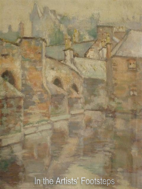 The Old Bridge, Dumfries by Christian Jane Fergusson
