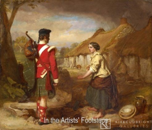 The Soldier's Return by John Faed