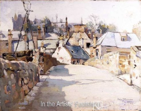 View Across the Old Bridge Dumfries by Christian Jane Fergusson