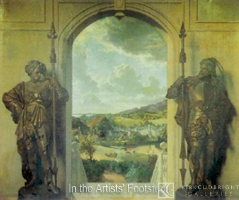 View over Gatehouse by John Faed