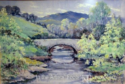 Buckland Bridge by A J Hastings